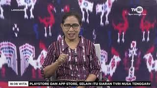Dialog Publik TVRI Bersama Kaban Kesbang Pol Prov NTT Dan Kadis Diskominfo Prov NTT.