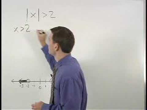 Absolute Value Inequalities - YourTeacher.com - Algebra Help