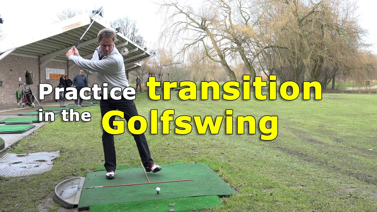 Transition in the golf swing