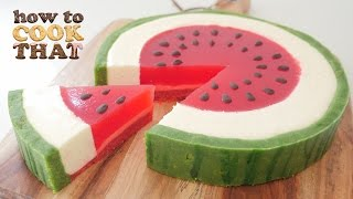 SUMMER WATERMELON DESSERT How To Cook That Ann Reardon Watermelon Week - YouTube