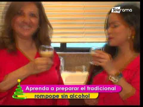 Aprenda a preparar el tradicional rompope sin alcohol