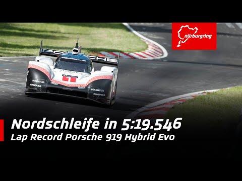 369 km/h on the Nordschleife   Lap Record Porsche 919 Hybrid Evo