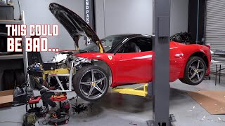 Ferrari 458 Wiring DISASTER! This will Make or Break it.... by TJ Hunt