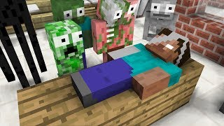 Monster School : Baking Cupcakes - Minecraft Animation