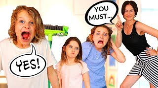 KIDS CAN'T SAY NO!! PARENTS IN CHARGE FOR 24 HOURS   The Norris Nuts