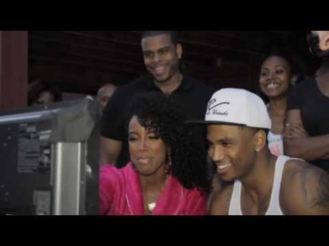 "Trey Songz- ""Heart Attack"" Video Shoot [Behind the Scenes]"