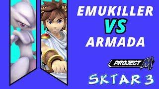 SKTAR 3 – Emukiller (Mewtwo) vs EMP Armada (Pit)