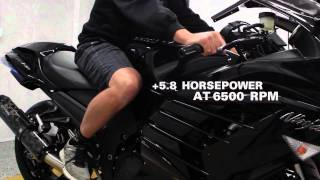 11. Two Brothers Racing - 2012 Kawasaki ZX-14R Dual Slip-On Exhaust System
