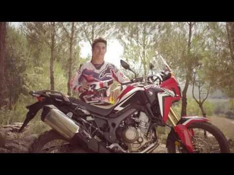 Vídeos de '¡Márquez y Barreda prueban la nueva Honda Africa Twin!'