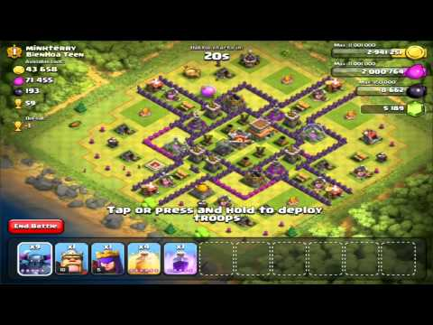 how to use the jump spell in clash of clans