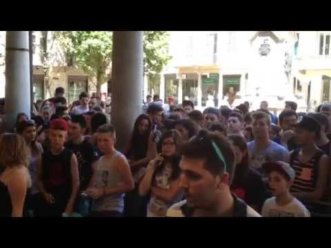 Salmo incontra i fan alla Casa del Disco