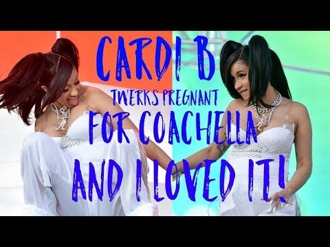 Cardi B TWERKS Pregnant At Coachella & I LOVED It
