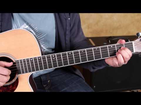 Black Keys – Little Black Submarines – How to Play on Guitar – Finger Picking  blues rock