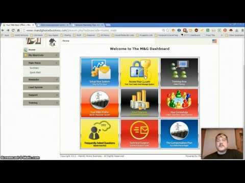 Network Marketing Tips M&G Home Business Back Office