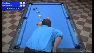 Shaun Wilkie Vs Joey Testa At The Valley Forge Bar Box 8-Ball Championships