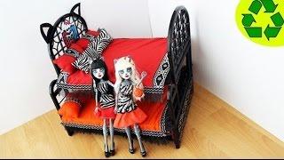 Video Monster High Bebekler için iki katlı yatak nasıl yapılır?  - MONSTER HIGH BEBEK  ICIN KENDIN YAP MP3, 3GP, MP4, WEBM, AVI, FLV November 2017