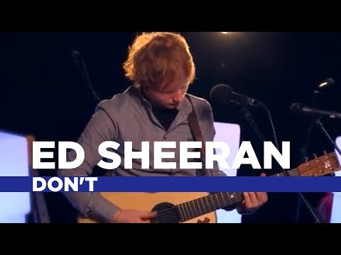 Dont - Ed Sheeran came by the Capital FM live studio to sing us a few of his new tracks. This is a stripped-back, acoustic version of his new track 'Don't'. Subscri...