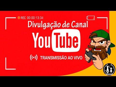 Vídeos engraçados - Divulgando Canais ao Vivo 24hs - Divulgação de Canal ao Vivo - GANHE MUITOS INSCRITOS