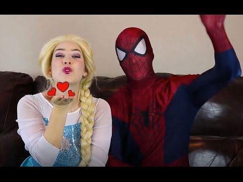 Toy Monster & Frozen Elsa MORNING ROUTINE & Spiderman Belle Maleficent Makeup Challenge