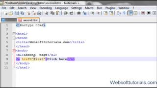 Html And Css In Hindi / Urdu Tutorial - 6 - How To Make A Hyperlink  In Html