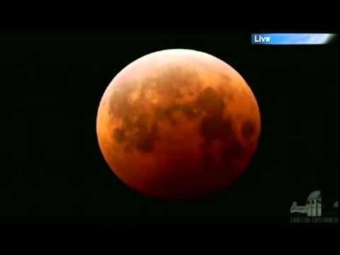 Lua de sangue: veja eclipse