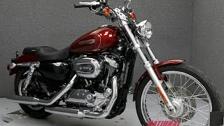 9. 2009 HARLEY DAVIDSON XL1200C SPORTSTER 1200 CUSTOM  - National Powersports Distributors