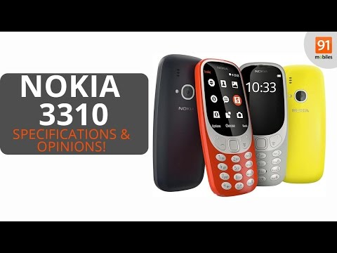 Nokia 3310 2017: Review of Specifications + Opinions!