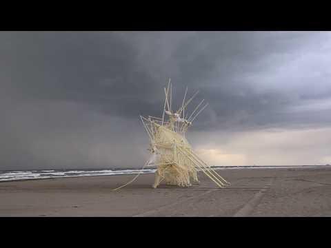 Theo Jansen s Latest Creations 2017