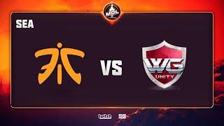 Fnatic vs WG.Unity, MDL Disneyland® Paris Major SEA QL, bo3, game 2 [Lost]