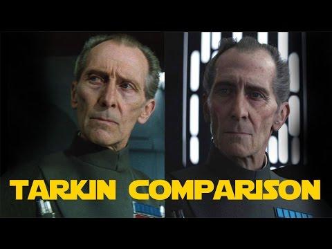 CGI Tarkin vs Real Tarkin   Comparison