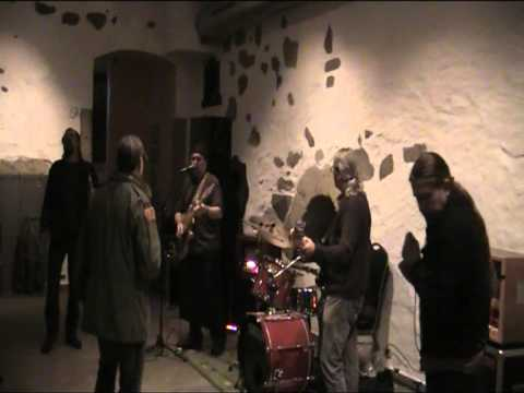 Trevor Hansbury mit Band
