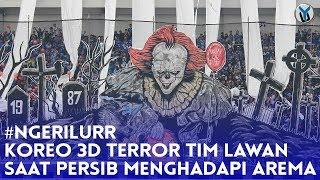 Video NGERI LURR! KOREO 3D TEROR TIM LAWAN, SAAT PERSIB MENGHADAPI AREMA MP3, 3GP, MP4, WEBM, AVI, FLV September 2018