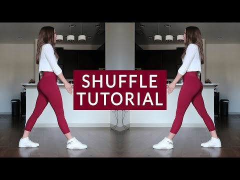 Shuffle Tutorial Basics: Running Man, T Step and Variations