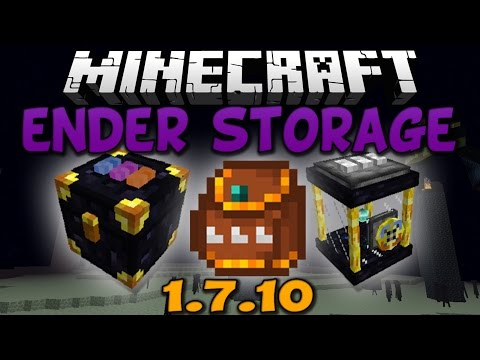Minecraft: Ender Storage Mod - 1.7.10 (Install Guide Included)