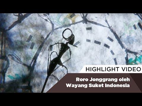 Highlight Roro Jonggrang oleh Wayang Suket Indonesia