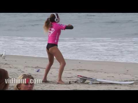 Surfer Anastasia Ashley