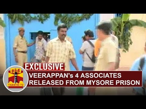 Exclusive--Veerappans-4-associates-released-from-Mysore-Prison--Karnataka-Government