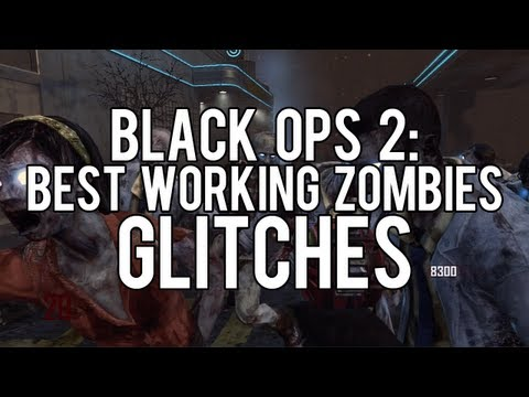 Black Ops 2 Zombies Glitches: Best Working Zombies Glitches - Barriers, Godmode, Spots