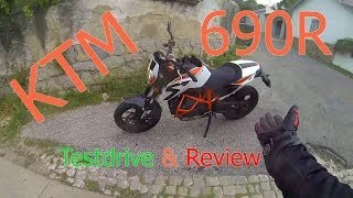 8. KTM DUKE 690 R TESTDRIVE & REVIEW
