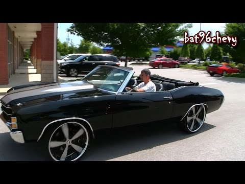 ULTIMATE AUDIO: 71 Chevelle SS on 24