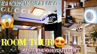 Video ROOM TOUR KAMAR MEWAH YOUTUBER 2018 !! | Dinda Shafay (Bahasa) MP3, 3GP, MP4, WEBM, AVI, FLV Januari 2018