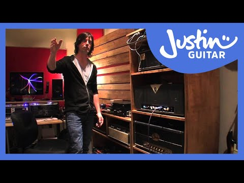 recording - While I was in LA in January I caught up with ace guitar player Pete Thorn in his new studio. In this video we talk about his set up, mini pedal board, amp r...