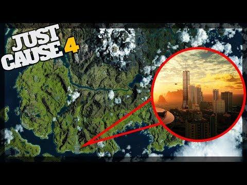 OFFICIAL Map Reveal - Just Cause 4 Map Analysis - Grasslands, Desert, Alpine, Rainforest