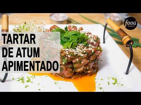 TARTAR DE ATUM APIMENTADO | COZINHA FOOD NETWORK