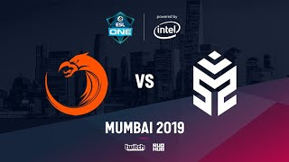 TNC vs Signify, ESL One Mumbai 2019, bo3, game 2 [Eritel & Inmate]