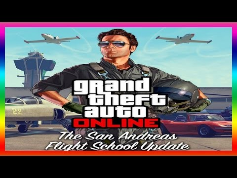 info - GTA 5 Flight School Update DLC GAMEPLAY TRAILER! Flight School DLC Info! (GTA V) Patch 1.16 Lets go for 400k Subscribers: http://bit.ly/SUBSCRIBETODAY http://Facebook.com/JoblessGamers http://Twitt...