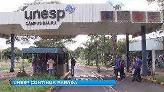 Unesp de Marília adere ao movimento de greve junto com outras unidades por atraso no pagamento