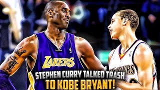 Video The Time Steph Curry Talked TRASH To Kobe Bryant & FAILED!! MP3, 3GP, MP4, WEBM, AVI, FLV Mei 2019