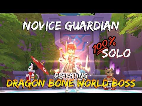 Pleb Novice VS Dragon Bone World Boss (Inspired by Cerulean Blues) | Ragnarok M: Eternal Love