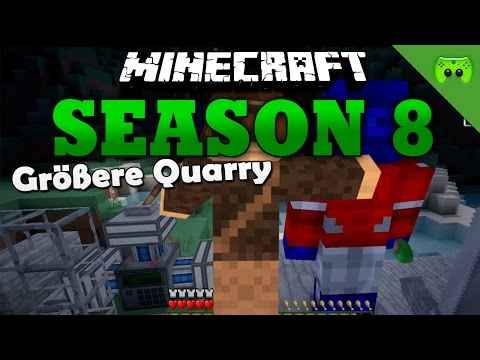 GRÖßERE QUARRY «» Minecraft Season 8 # 67 | Full HD